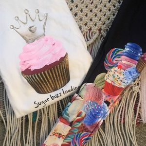 JUSTICE Sweater & Legging Sweets Set